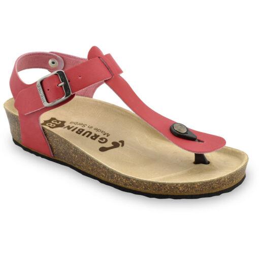TOBAGO női lábujjközös szandálok - bőr (36-42)