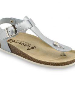 TOBAGO női lábujjközös papucsok - rostbőr (36-42)
