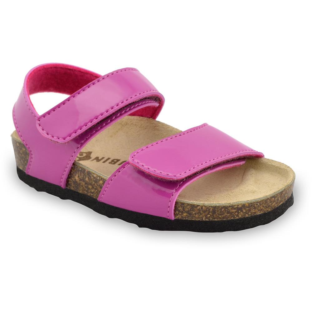 DIONIS gyerek szandálok - műbőr (23-29) - rózsaszín, 25