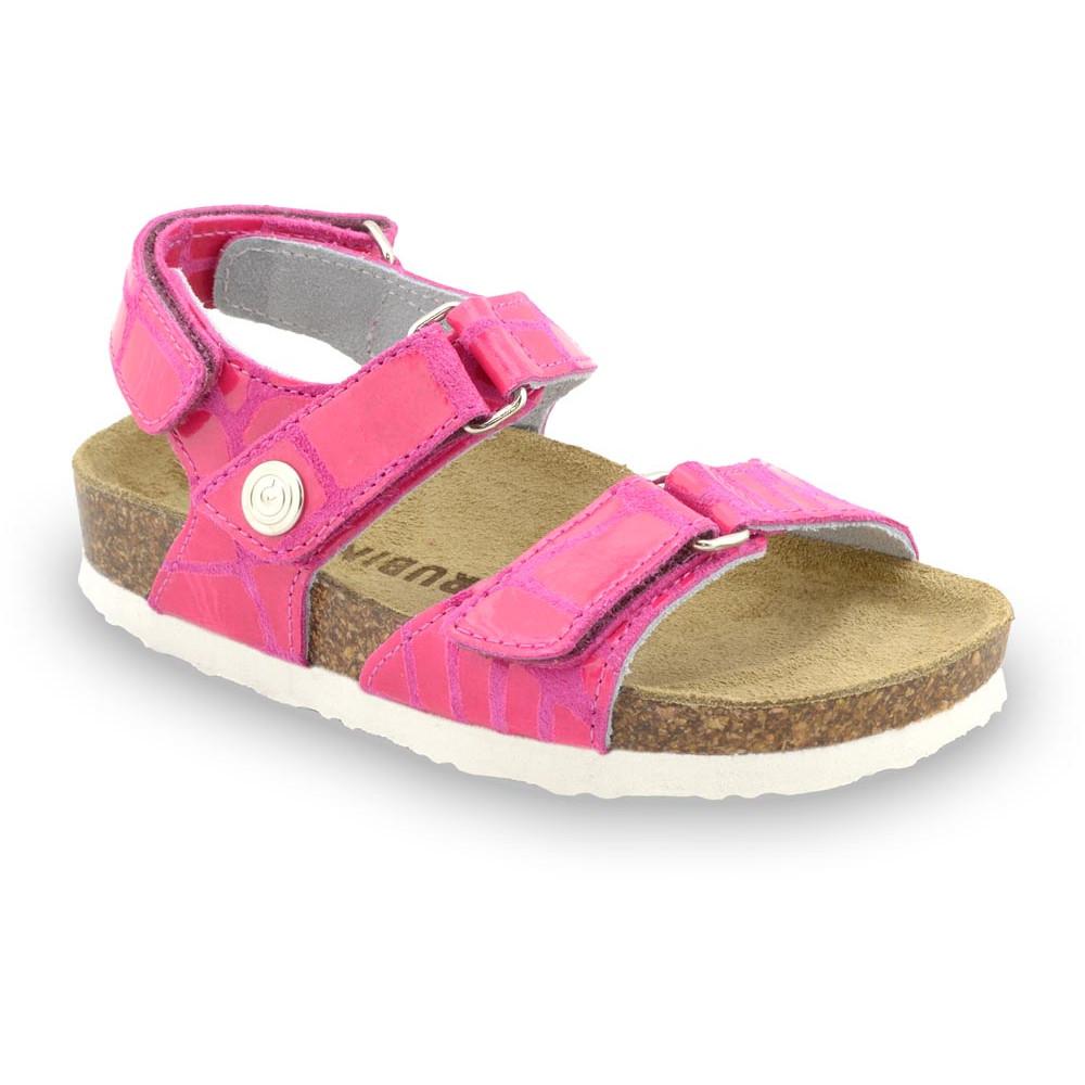 DONATELO gyerek szandálok - bőr (23-29) - rózsaszín, 26