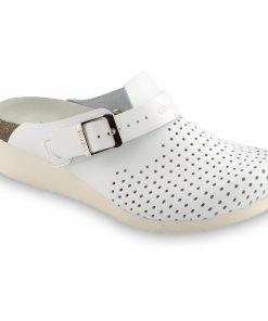 DUBAI silverplus zártpapucsok - bőr (36-42)