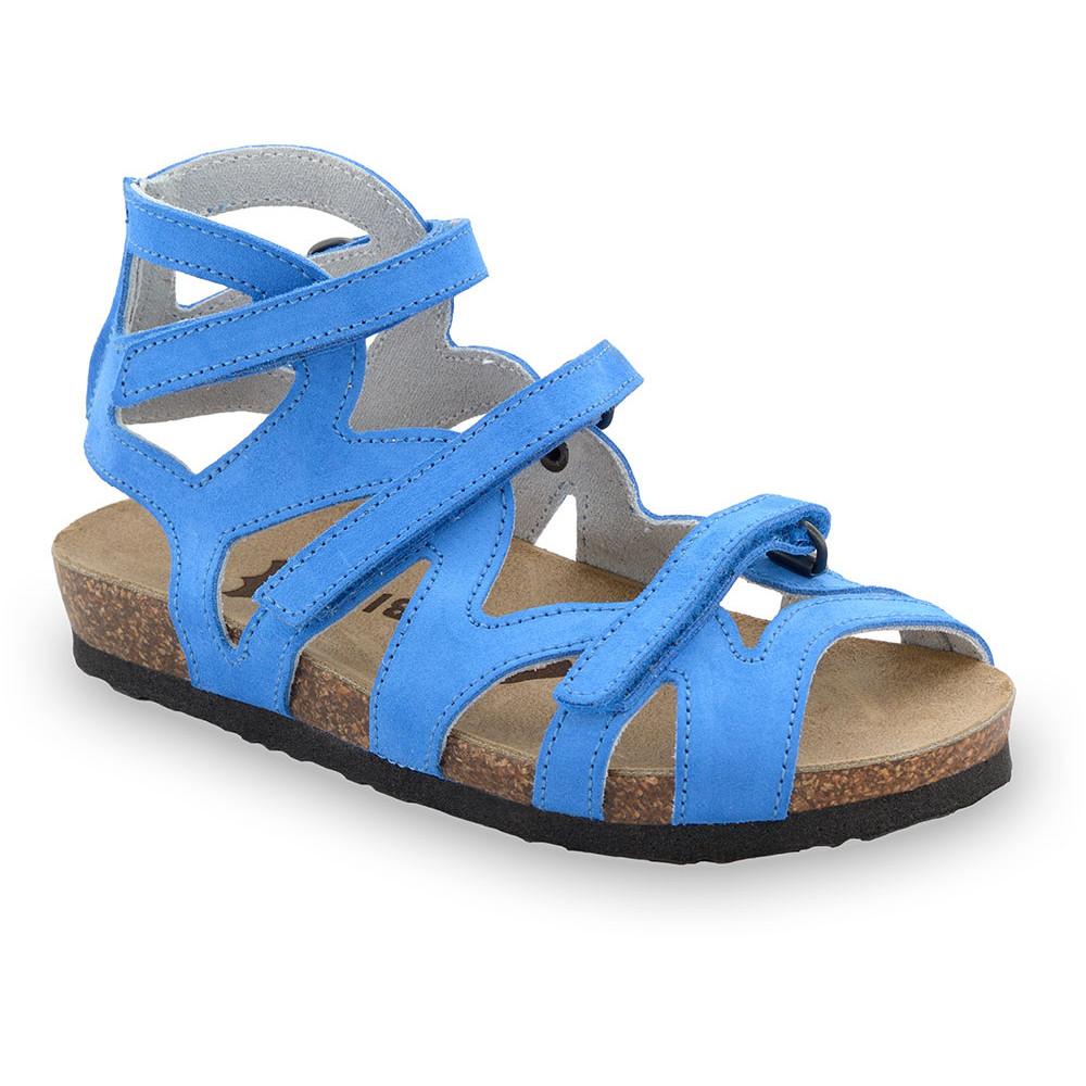MERIDA gyerek szandálok - bőr (25-29) - kék, 25