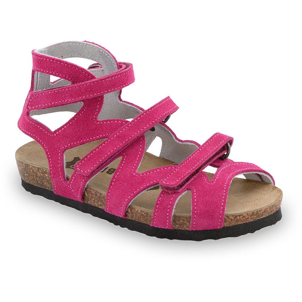 MERIDA gyerek szandálok - bőr (30-35) - rózsaszín, 32