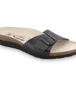 TOPEKA silverplus papucsok - bőr (36-42)