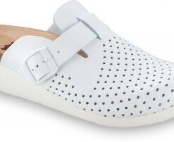 Ortopedické papuče   biele   OXFORD   GRUBIN